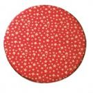 10'' (254mm) Christmas Double Solid Round Cake Card - Stars